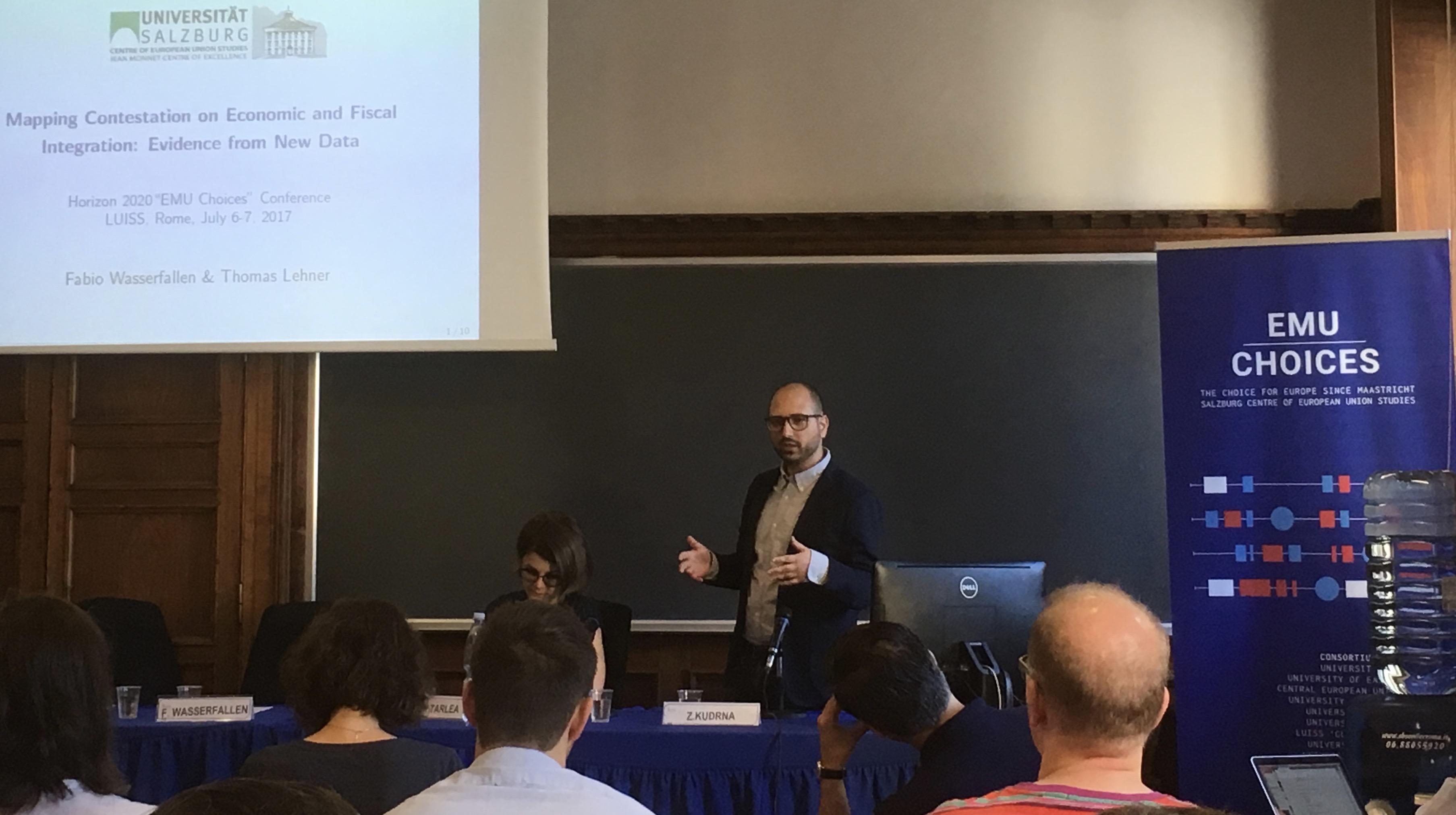 Rome Conference_Fabio presenting